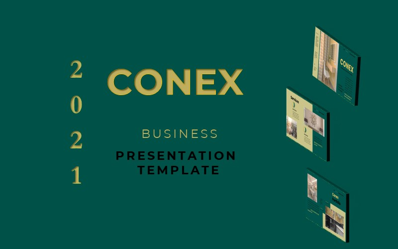 Conex - Business Presentation PowerPoint Template