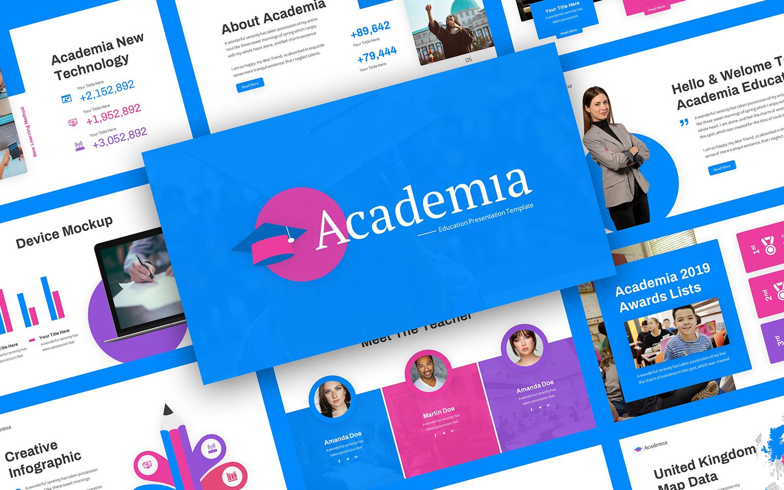 Academia - Education Powerpoint Template