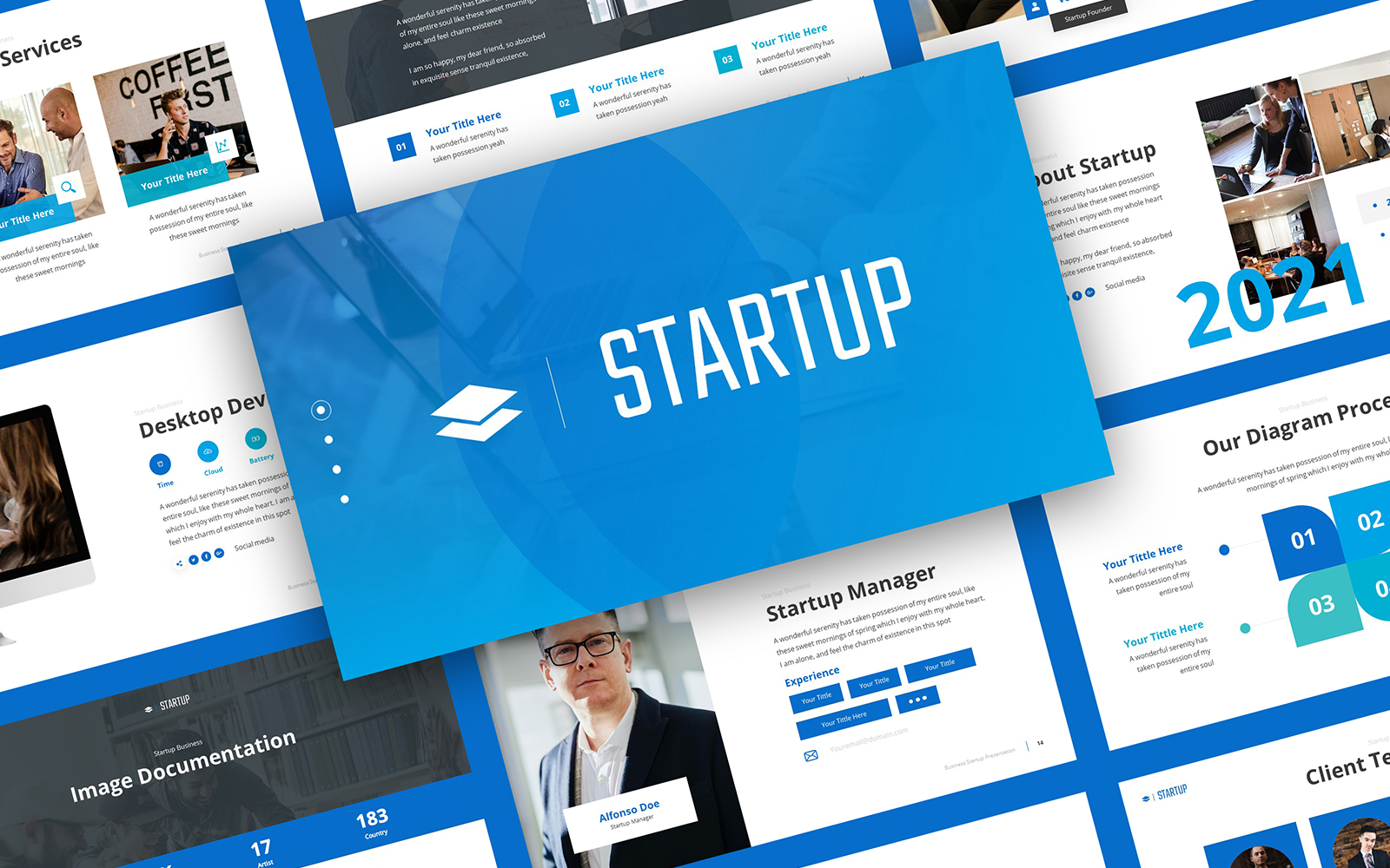 Startup - Corporate Business PowerPoint Template