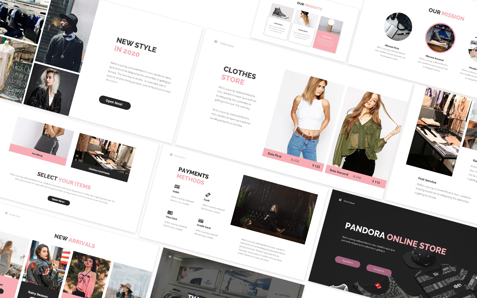 Online Store Powerpoint Template