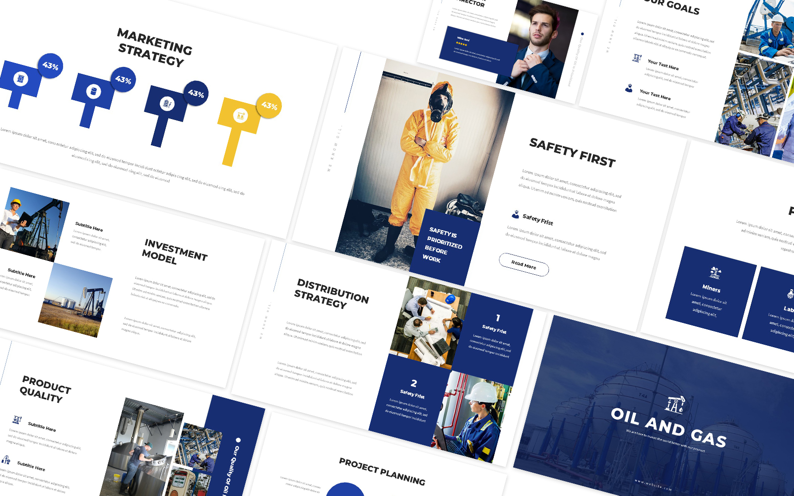Oil & Gas Powerpoint Template