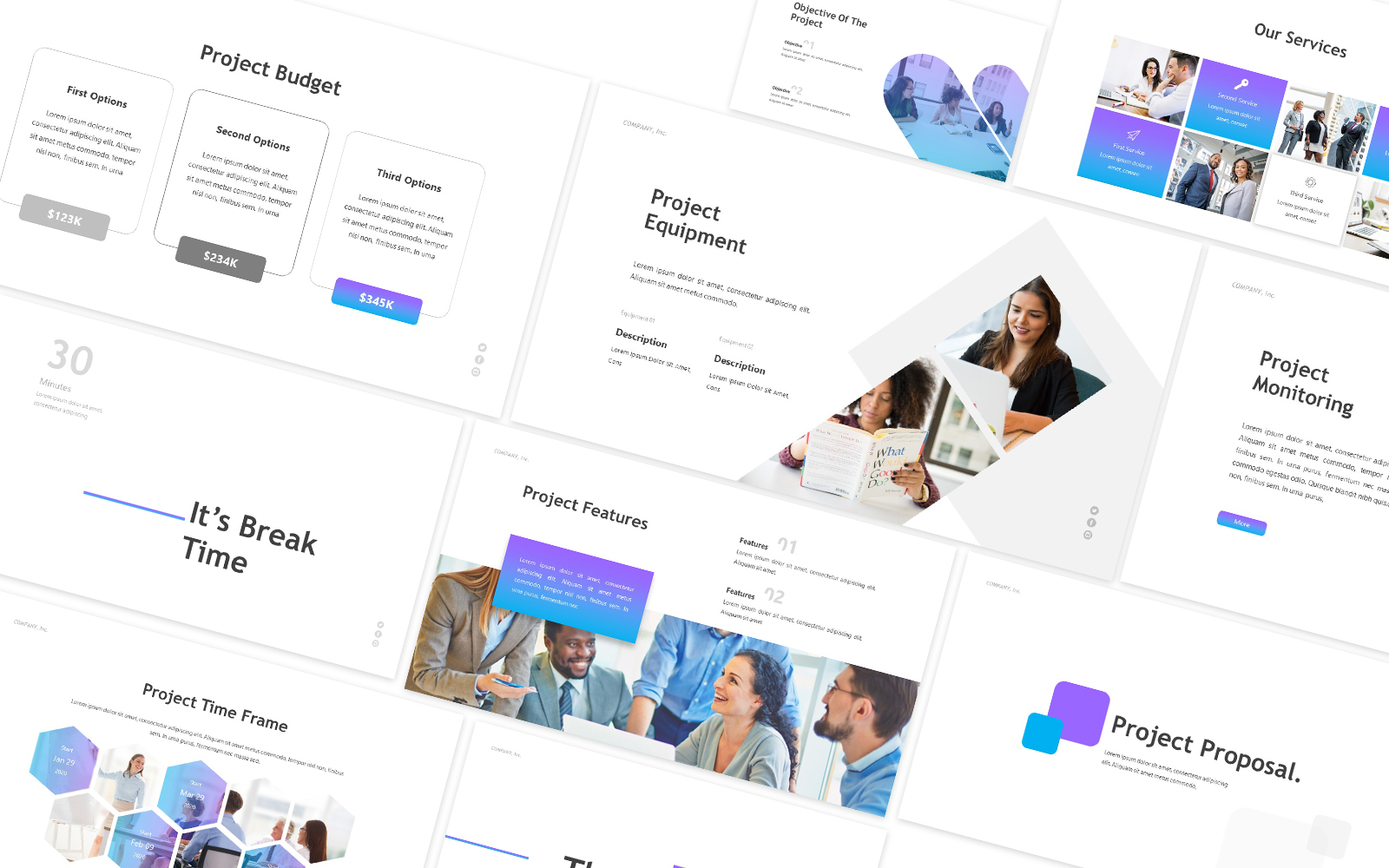 Project Proposal Business Powerpoint Template