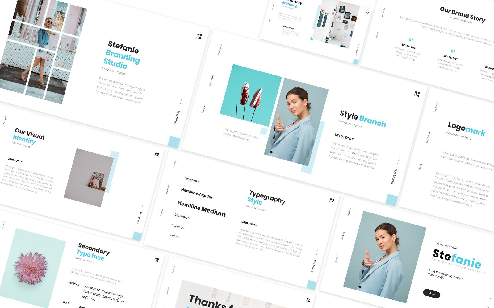Stefani Branding Powerpoint Template