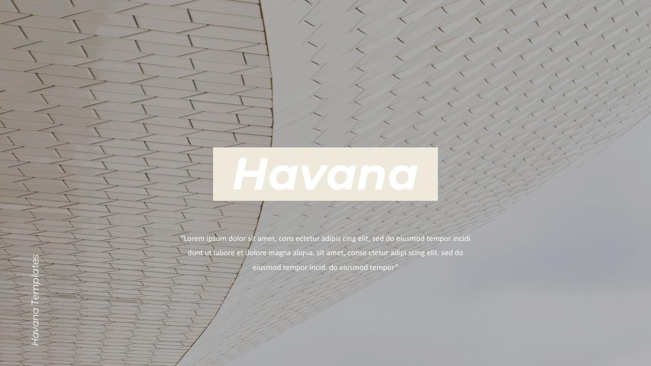 Havana Powerpoint Templates
