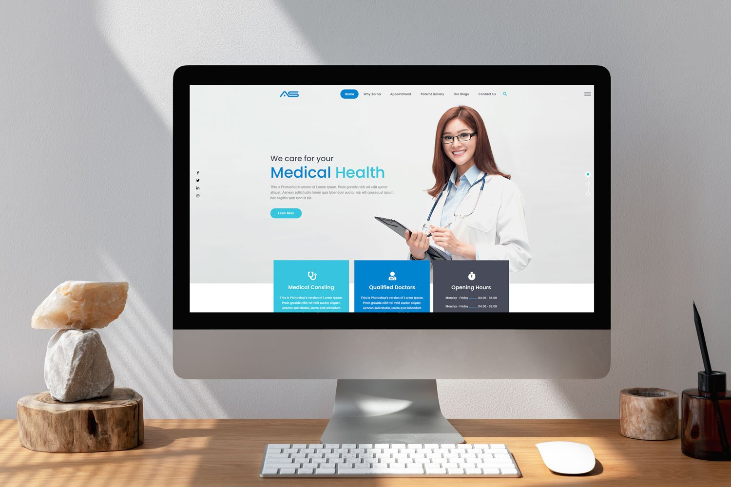 Sorna | Medical HTML5 Landing Page Template