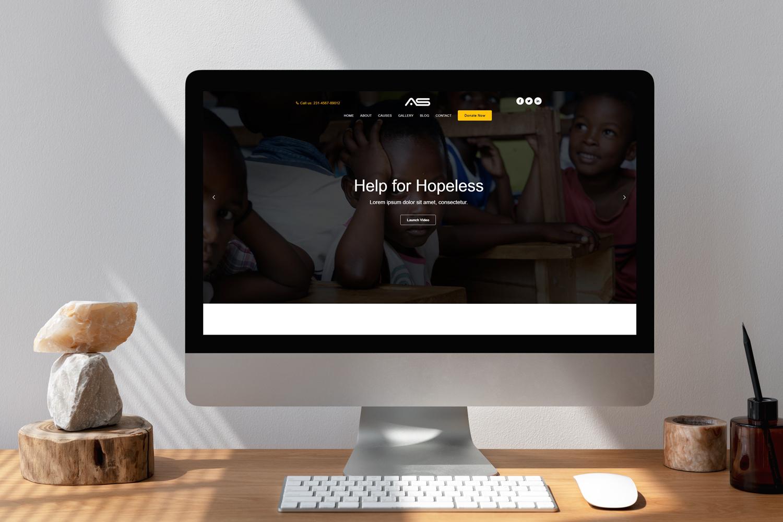 Shuvo | Charity HTML5 Landing Page Template