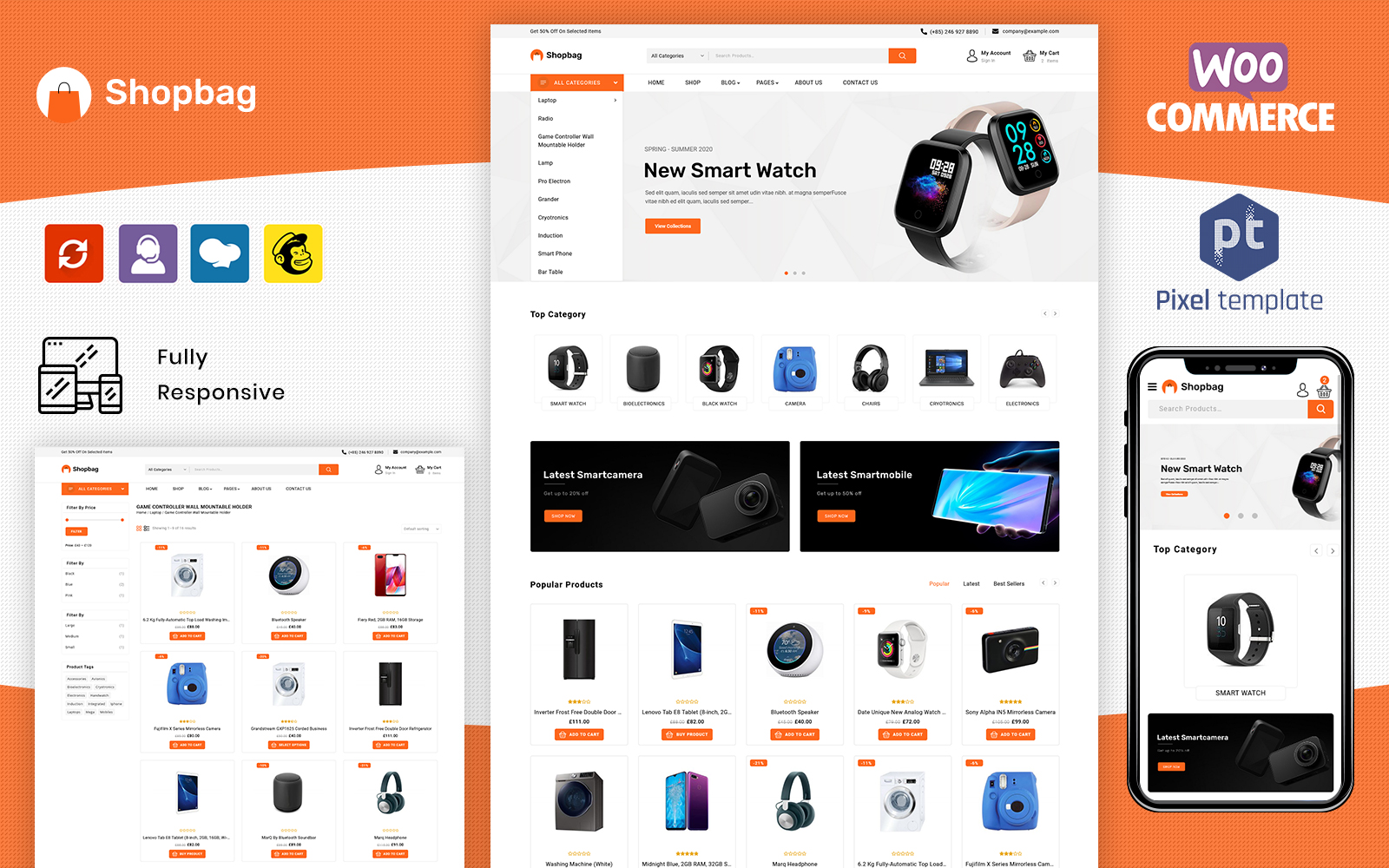 Shopbag - Multipurpose WooCommarce Template