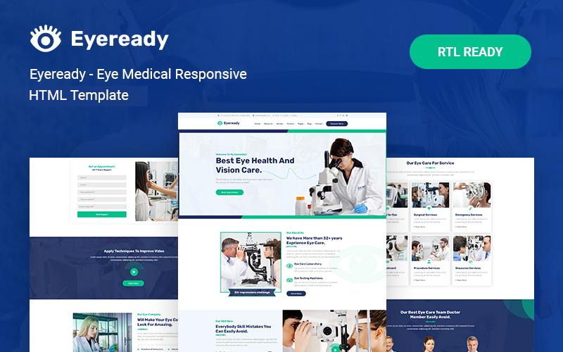 Eyeready - Eye Medical Responsive Website Template