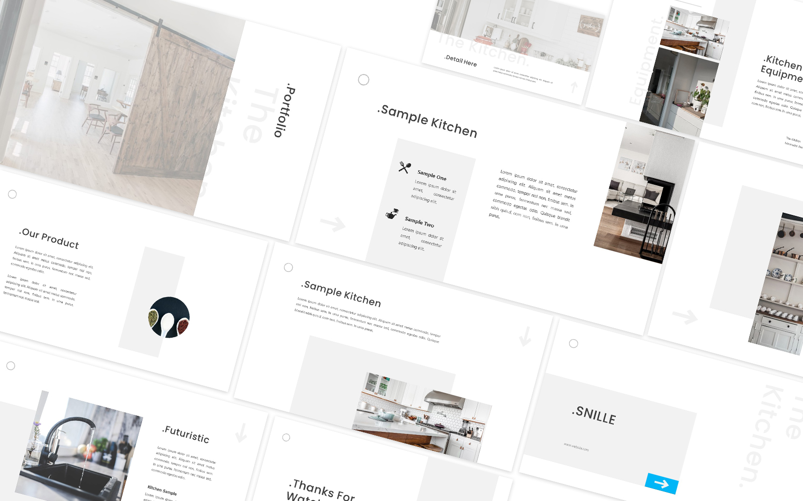 The Kitchen Powerpoint Template