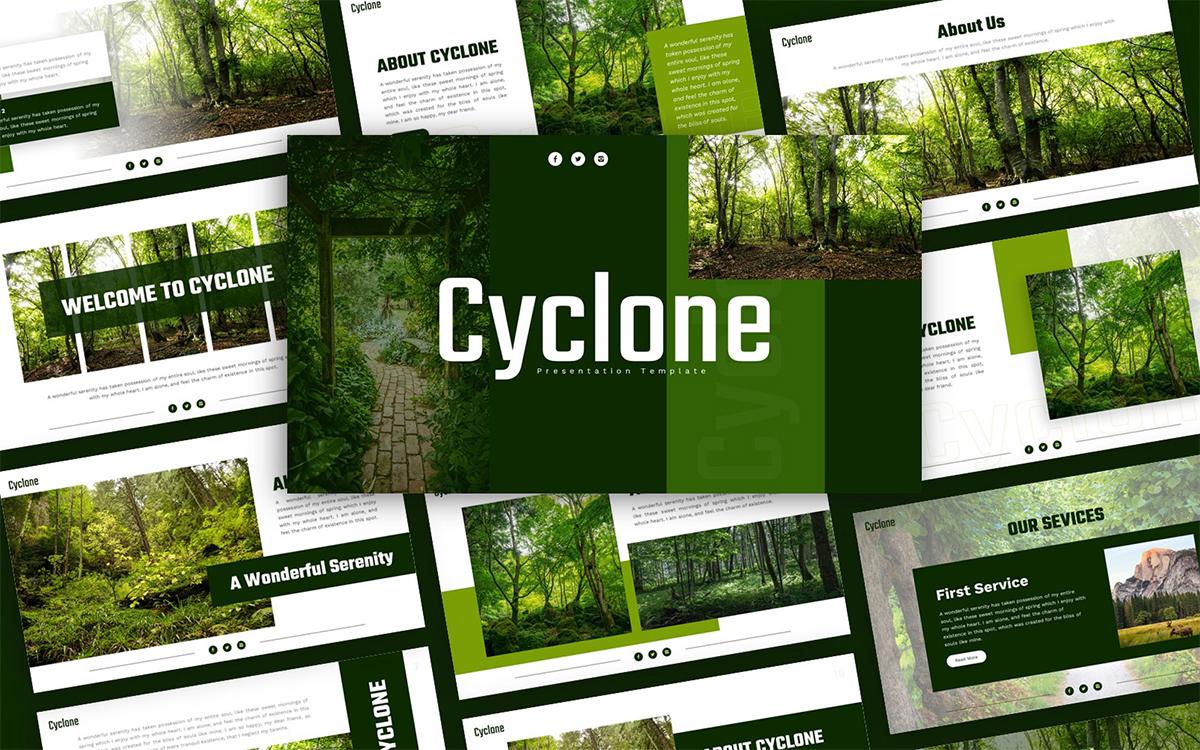 Cyclone Environment Presentation Template