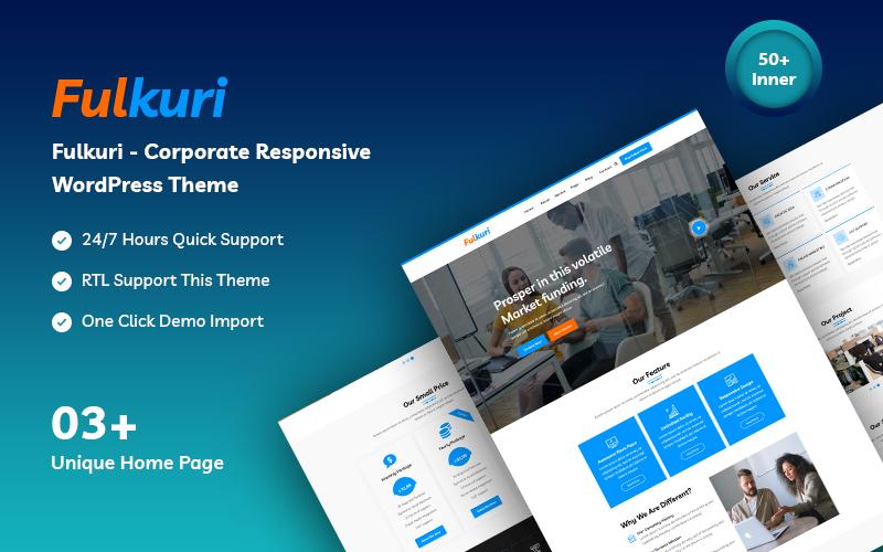 Fulkuri - Corporate Business WordPress Theme