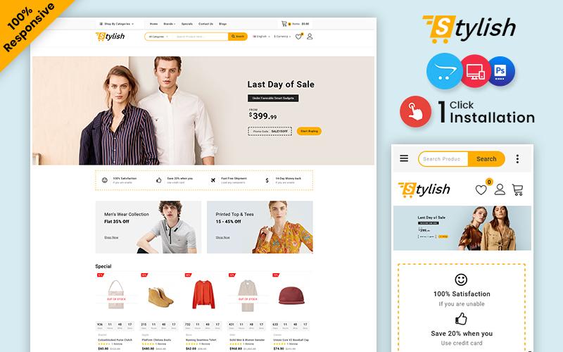 Stylish – Fashion & Beauty Multipurpose OpenCart Template