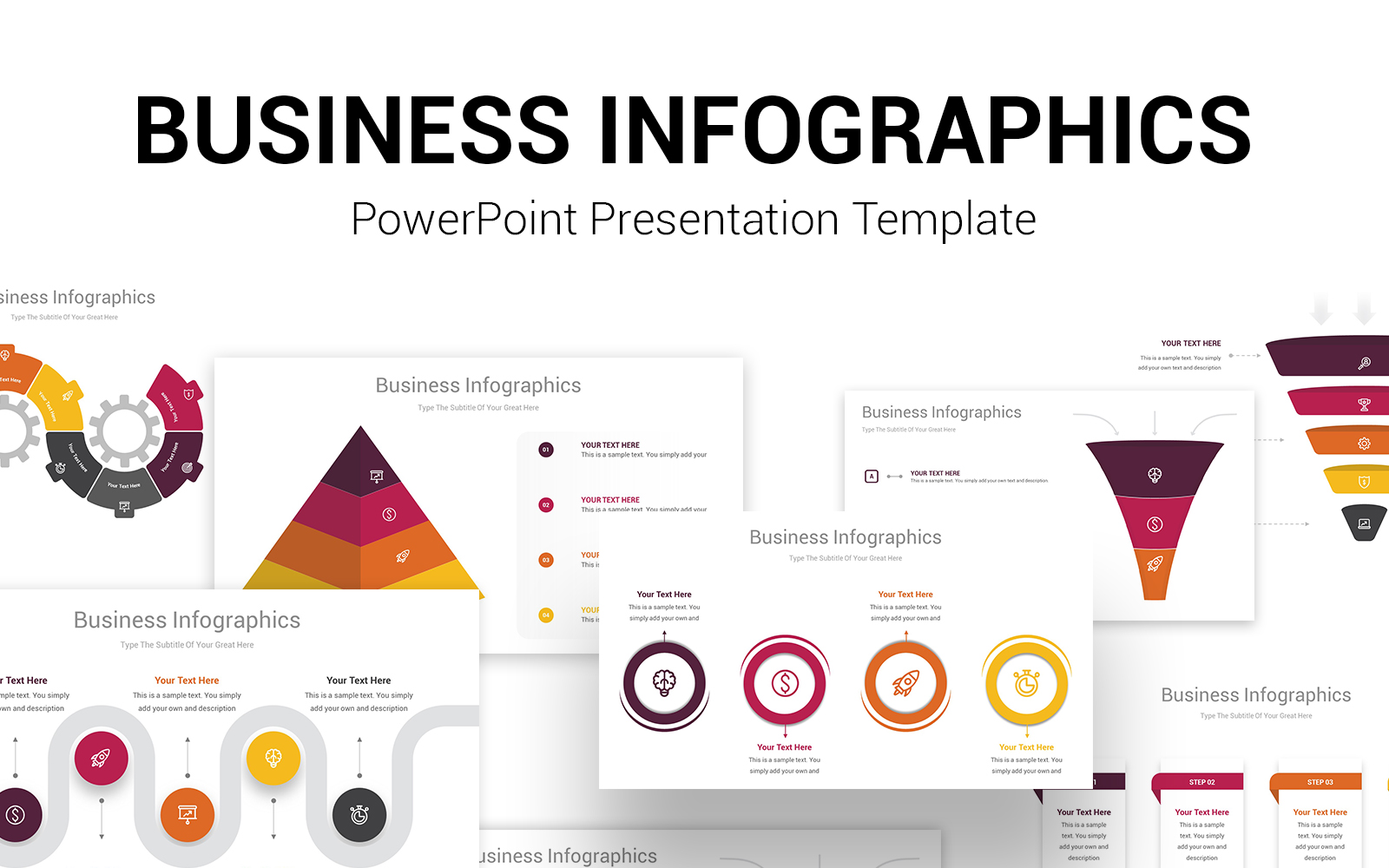 Biz Infographics PowerPoint PPT Template