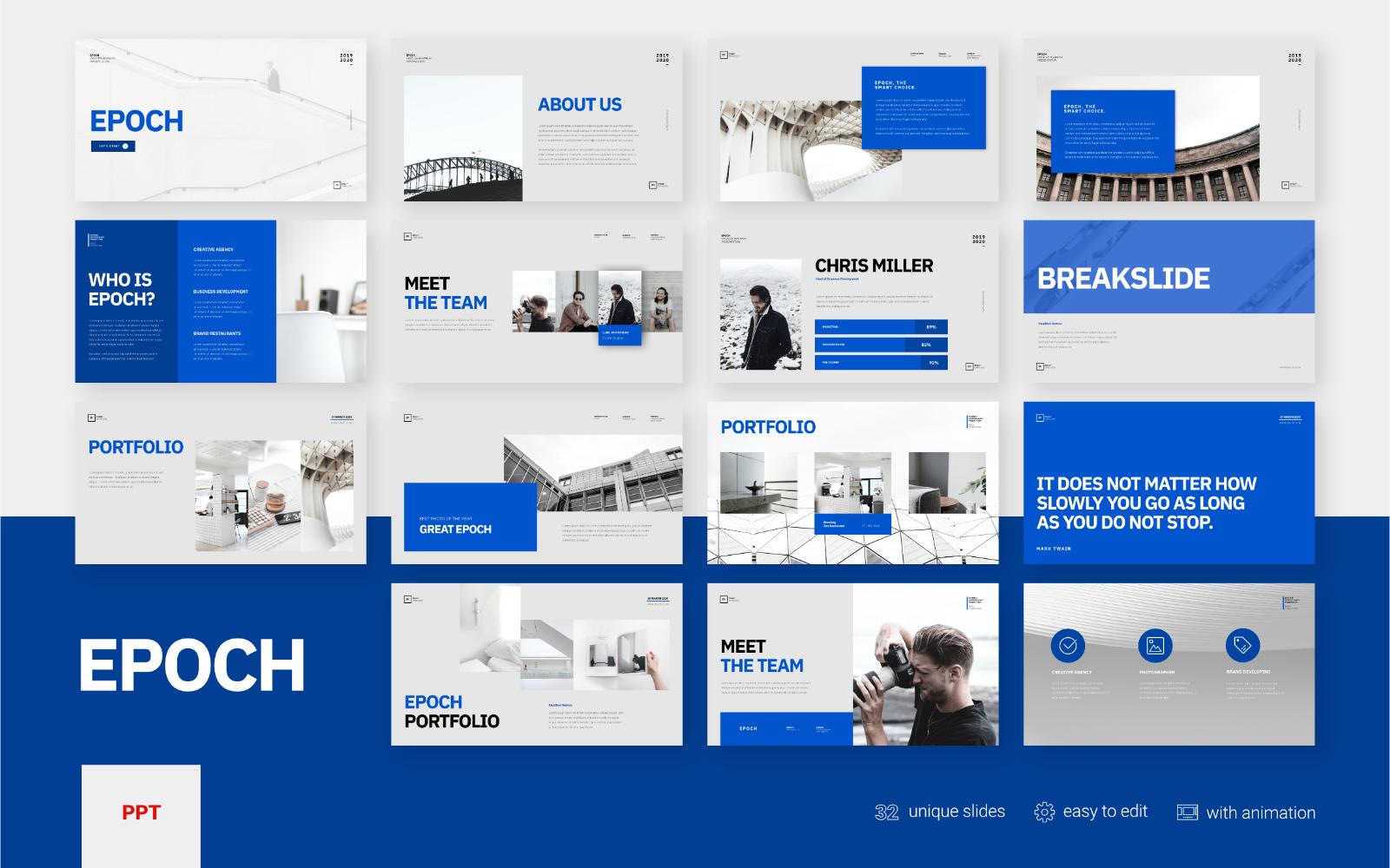 Epoch - Business Presentation - Powerpoint Template