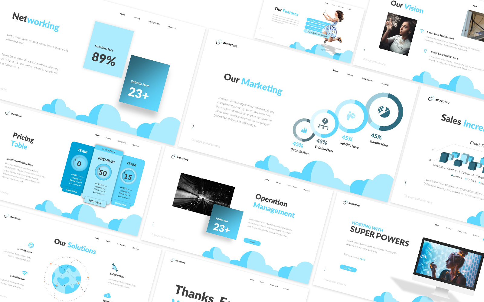 Brosting Powerpoint Template