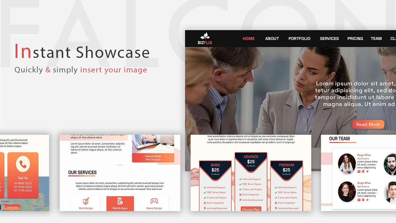 BizFlix | Corporate HTML Template