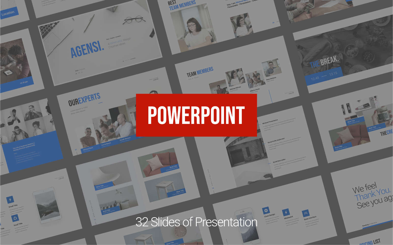 Agensi - Creative Business Presentation - Powerpoint Template