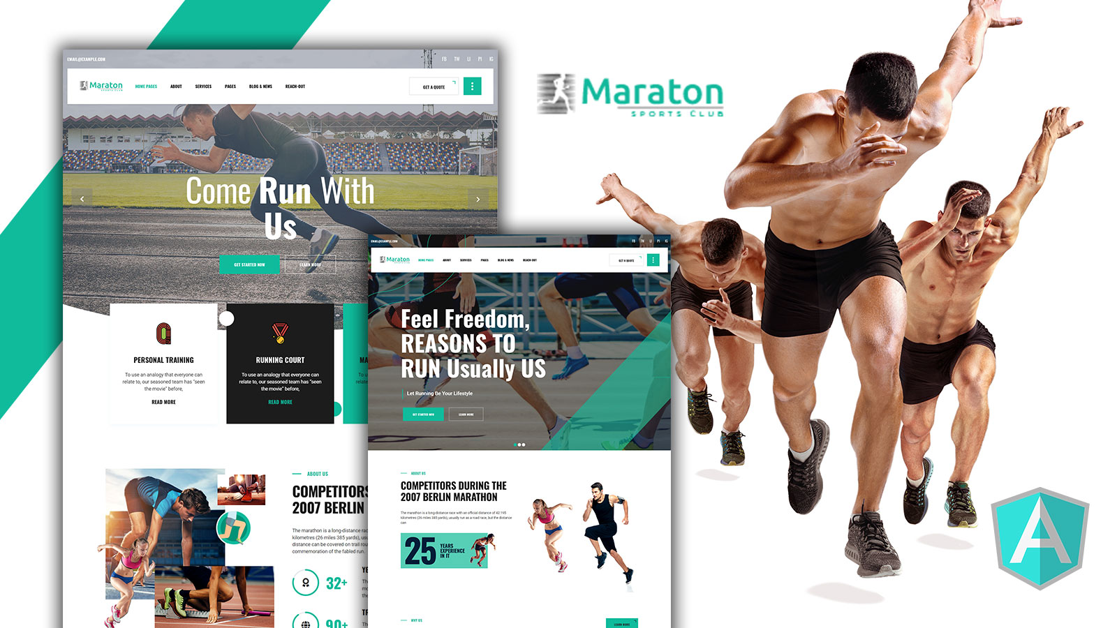 Maraton - Maraton Angular Template