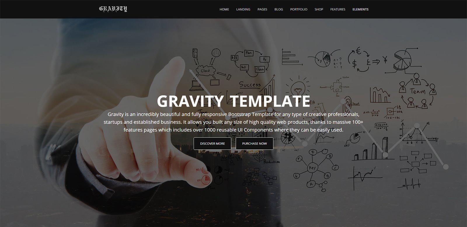 Gravity - Multi-Purpose HTML Template