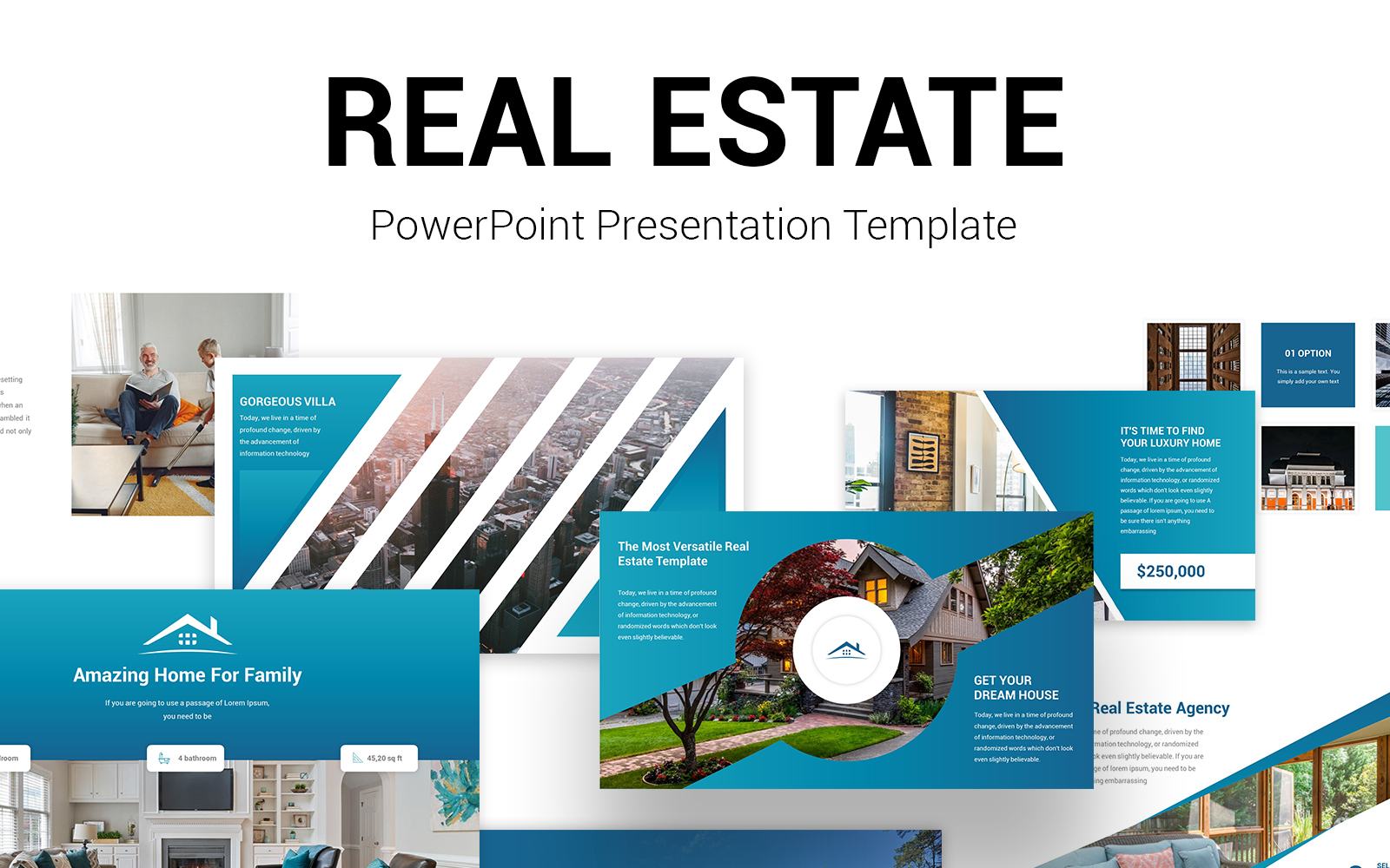 Pro Real Estate PowerPoint Presentation Template