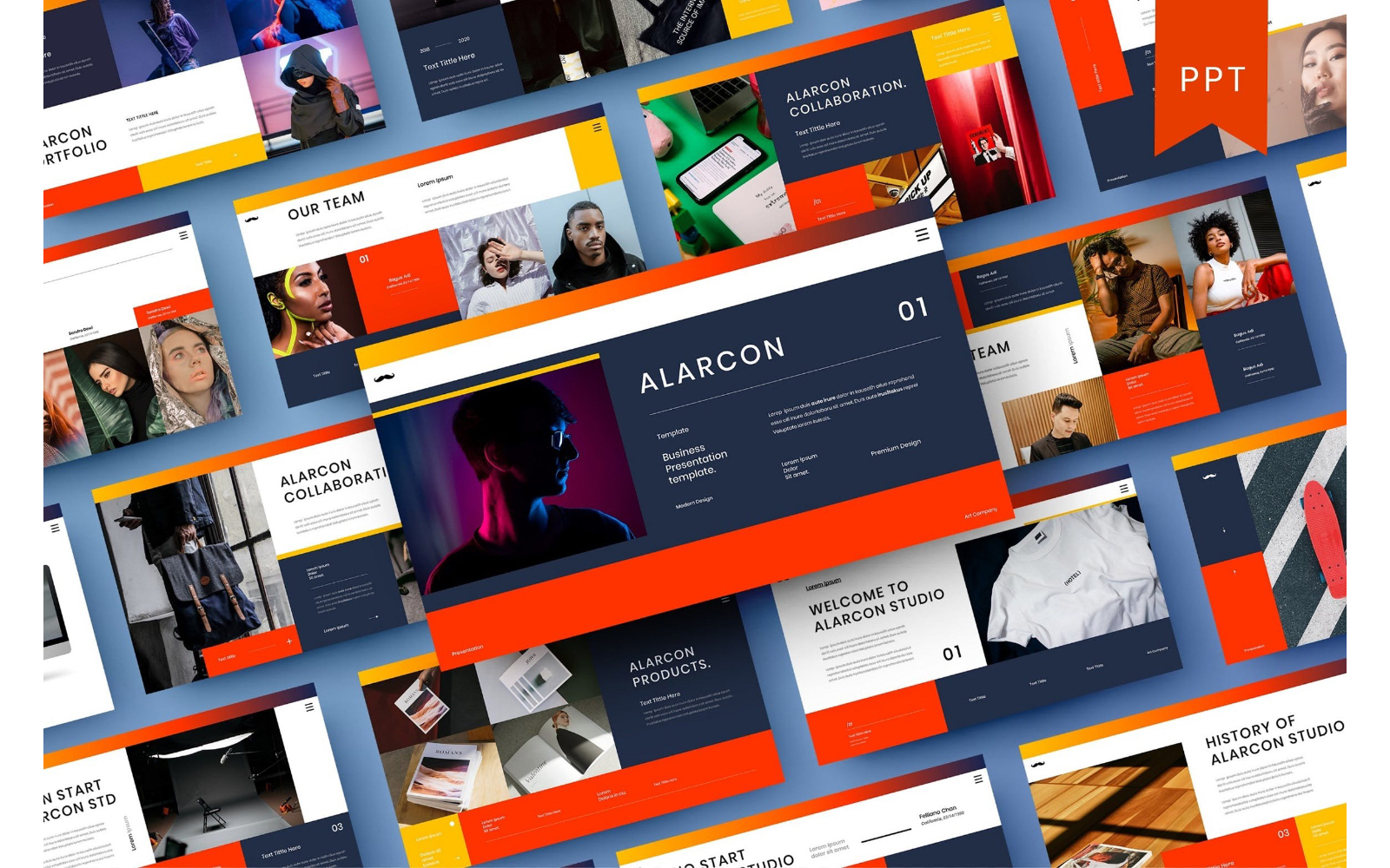 Alarcon – Business PowerPoint Template