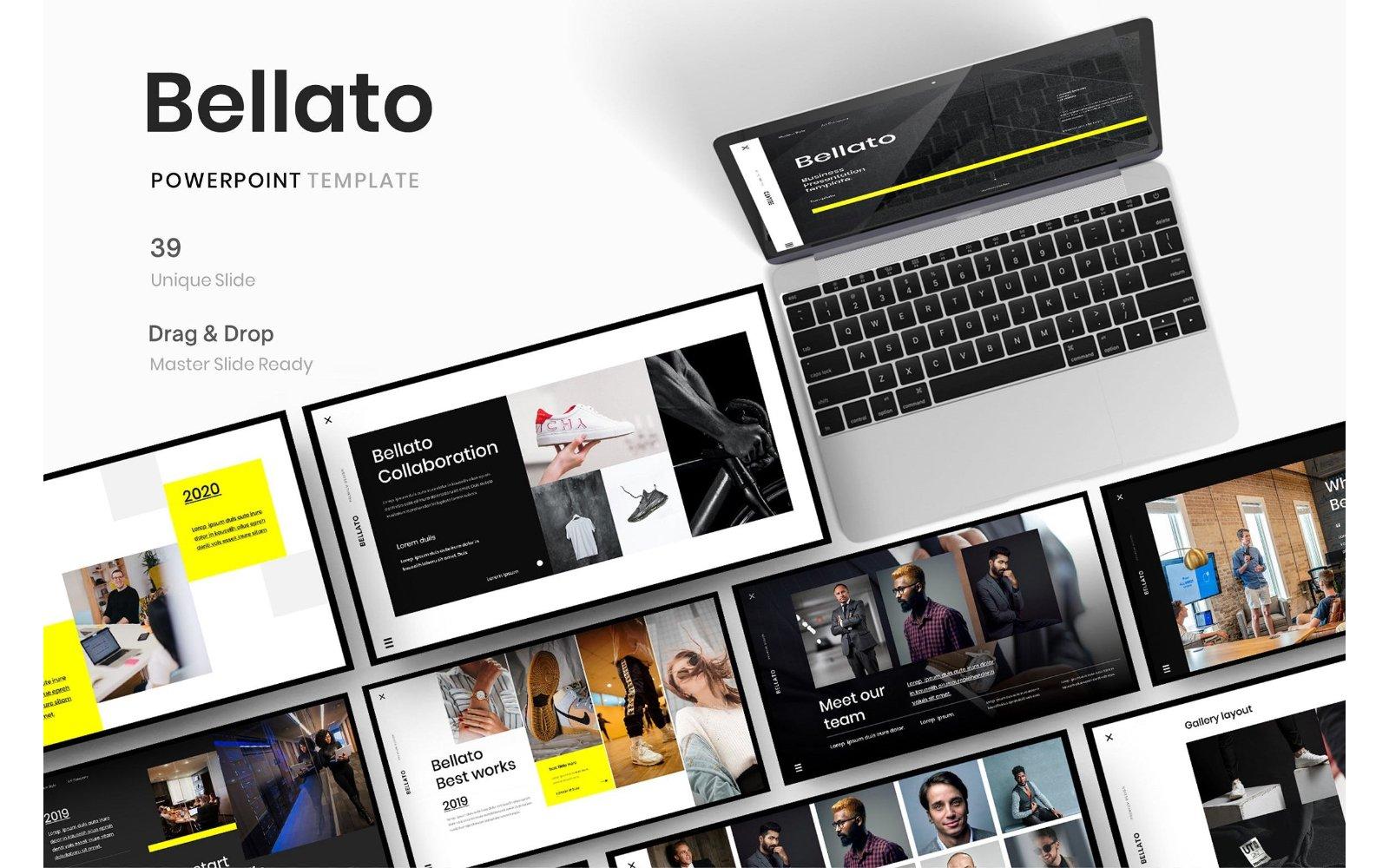 Bellato – Business PowerPoint Template