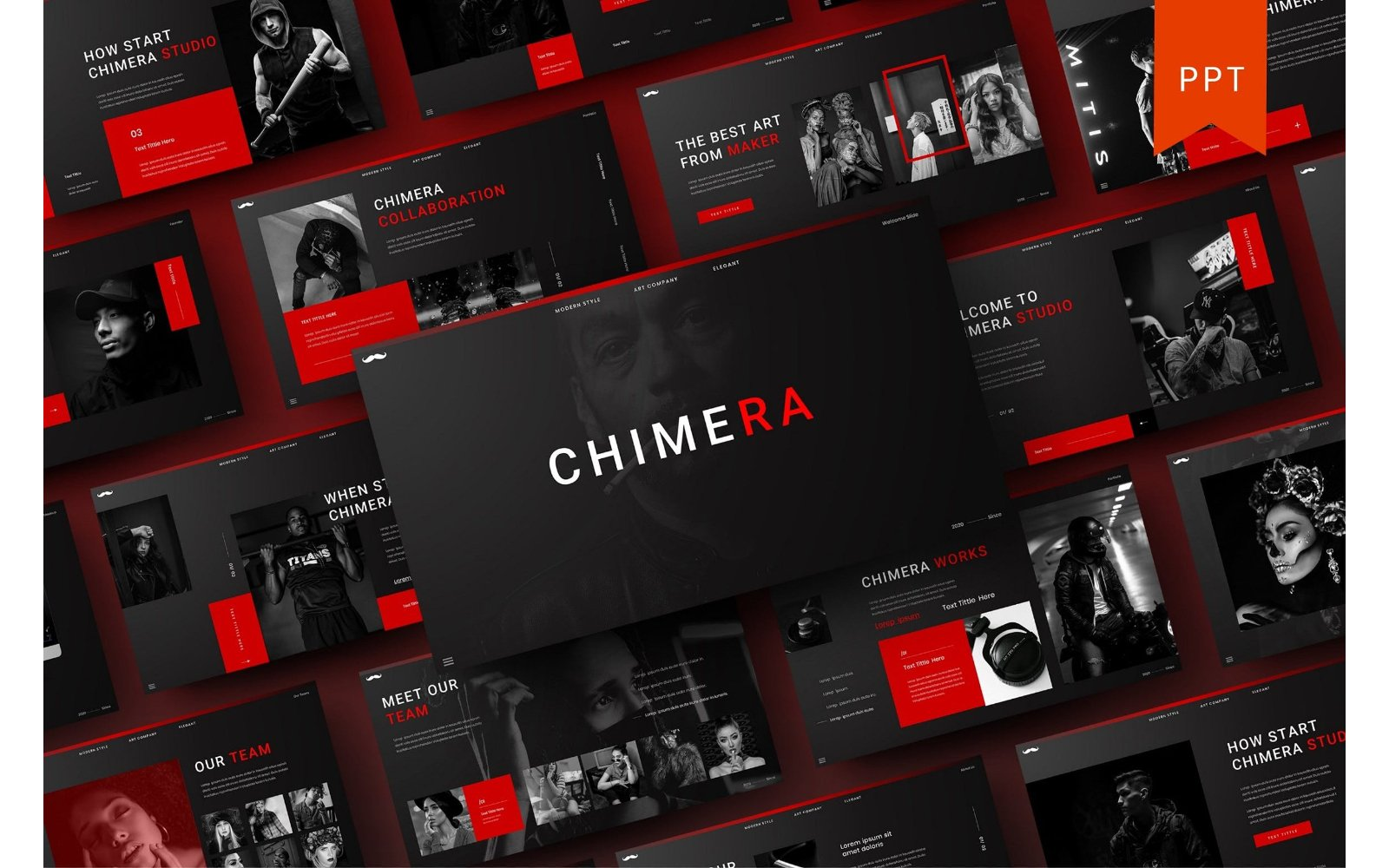 Chimera - Business PowerPoint Template