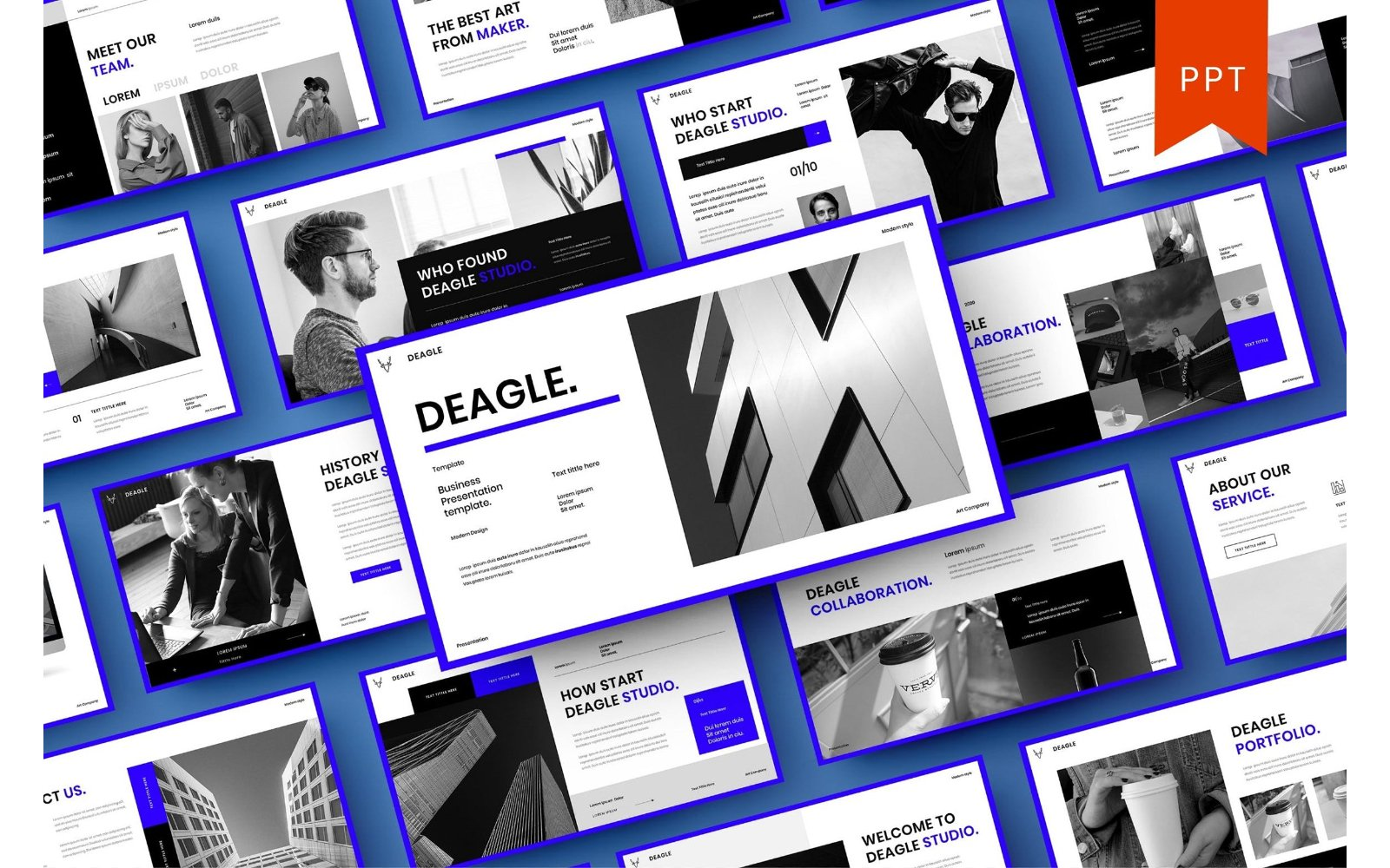 Deagle – Business PowerPoint Template