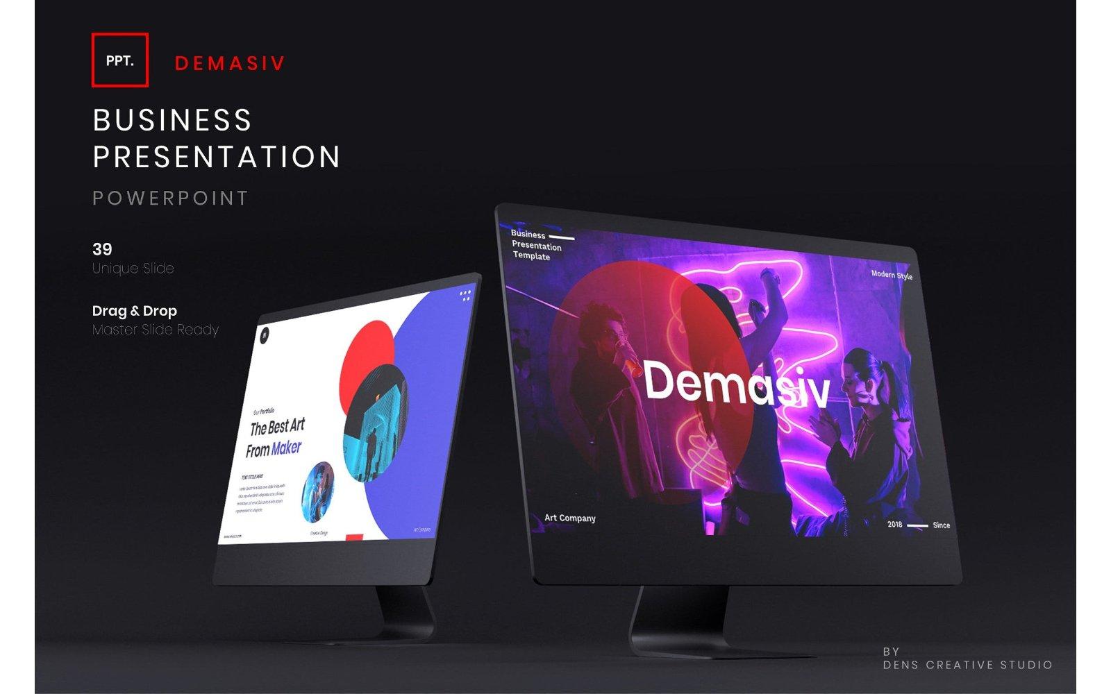 Demasiv – Business PowerPoint Template