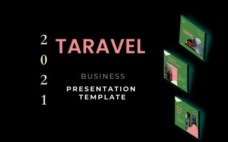 TARAVEL - Business Presentation PowerPoint Template