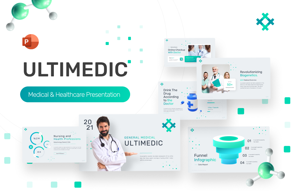 Ultimedic Medical Professional PowerPoint Template