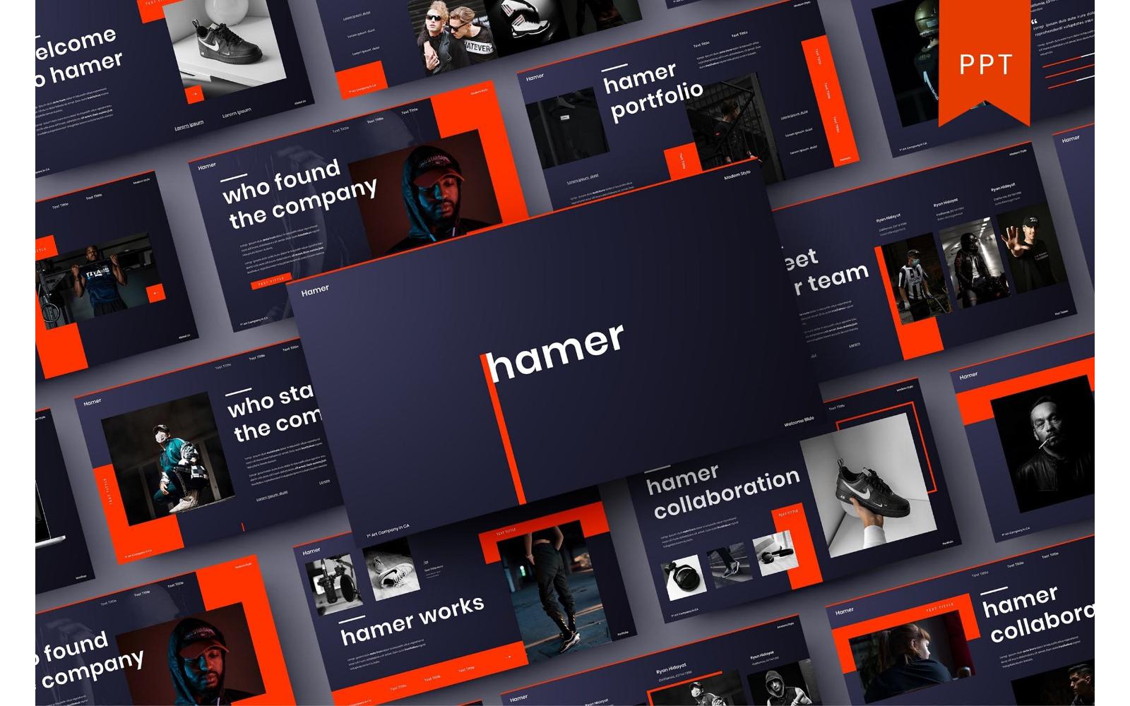 Hamer - Business PowerPoint Template