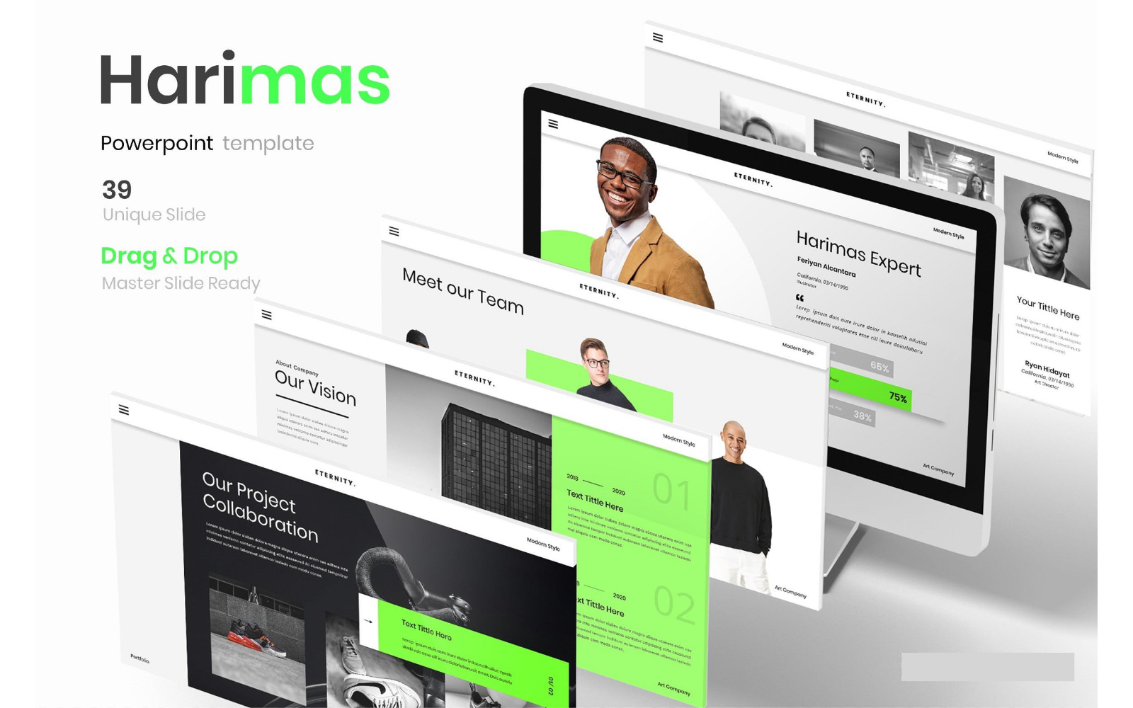 Harimas – Business PowerPoint Template