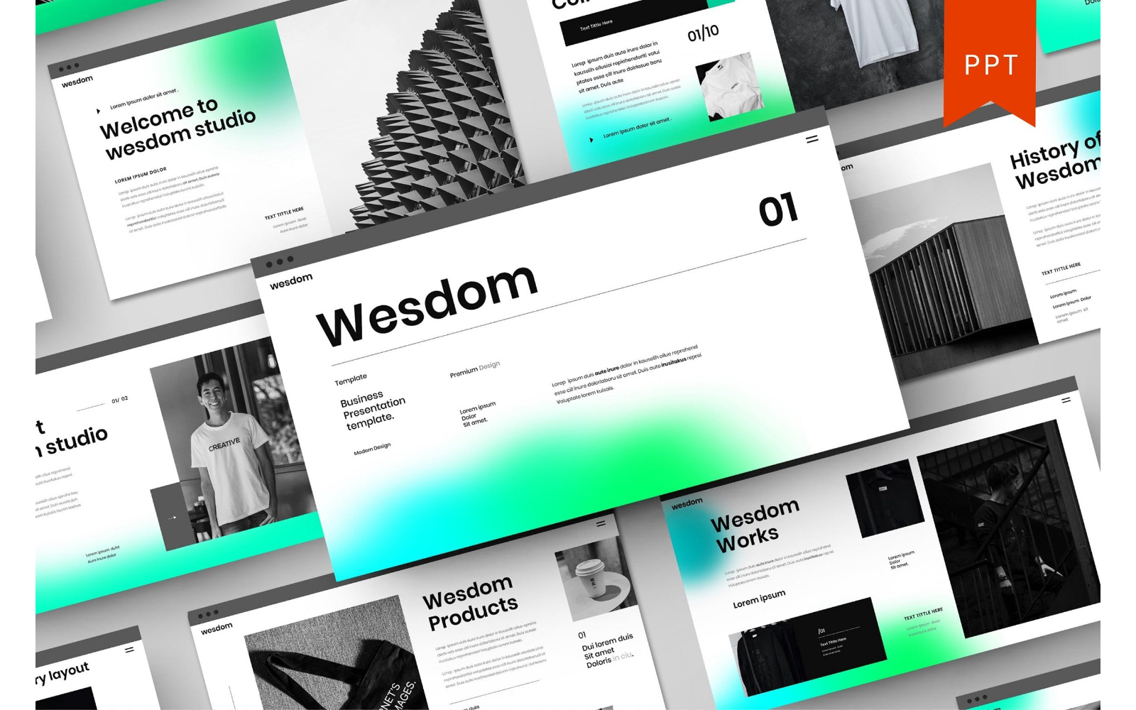 Wesdom – Business PowerPoint Template