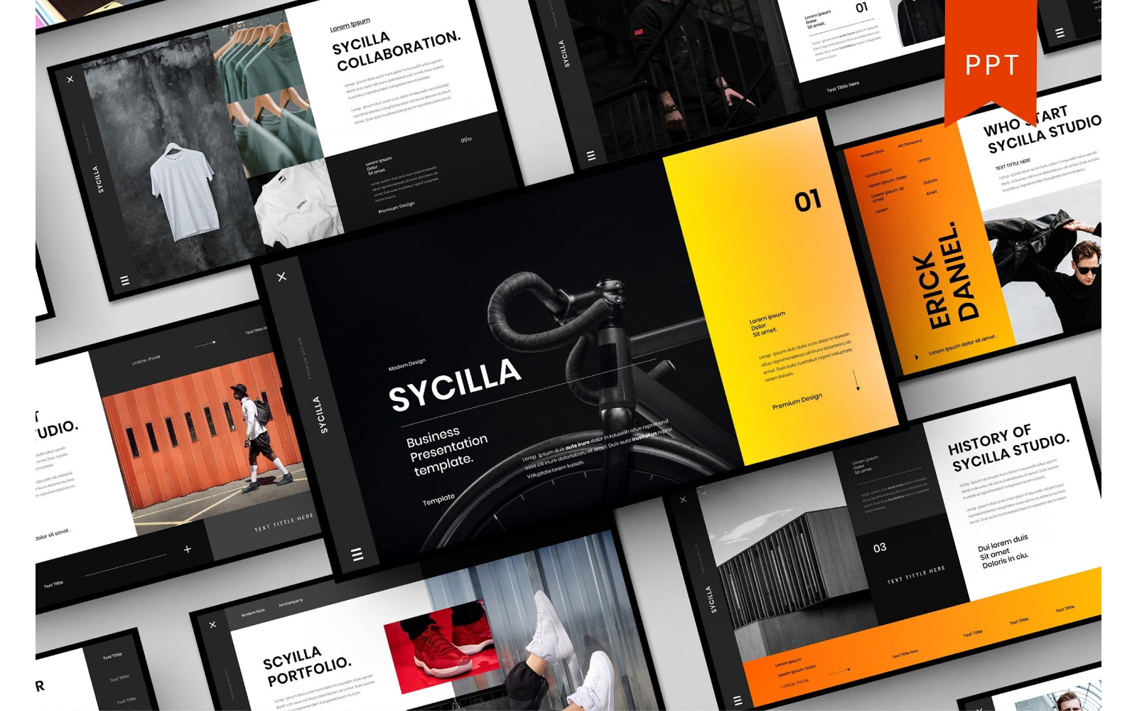 Sycilla – Business PowerPoint Template