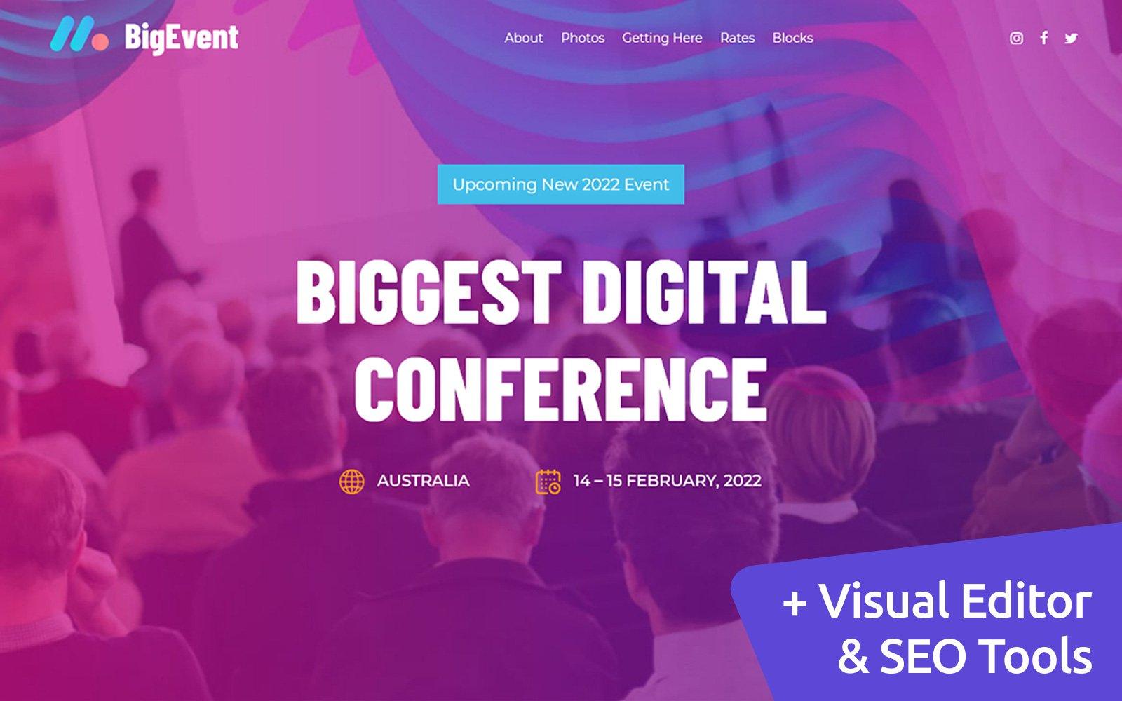 Summit MotoCMS Website Template