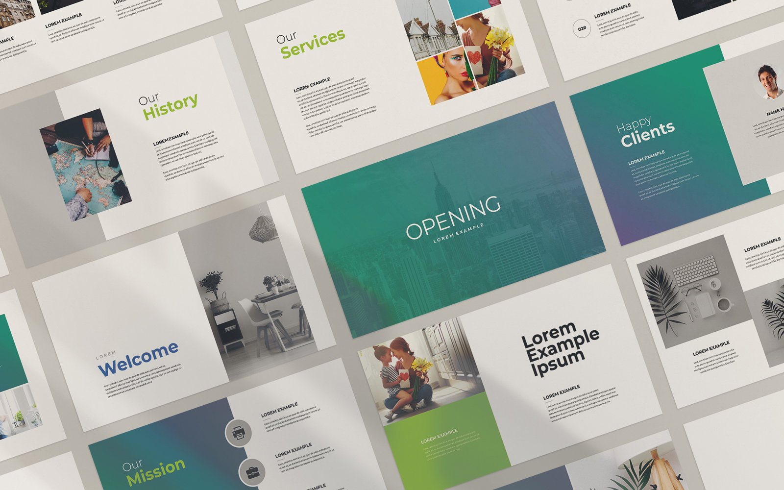 The Opening Presentation Templates
