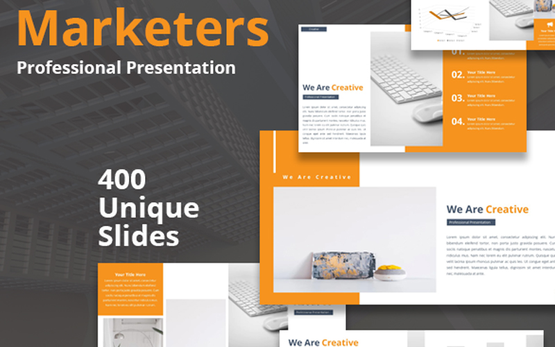 Marketers Powerpoint Template