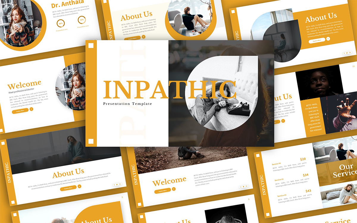 Inpathic Mental Health Presentation Template