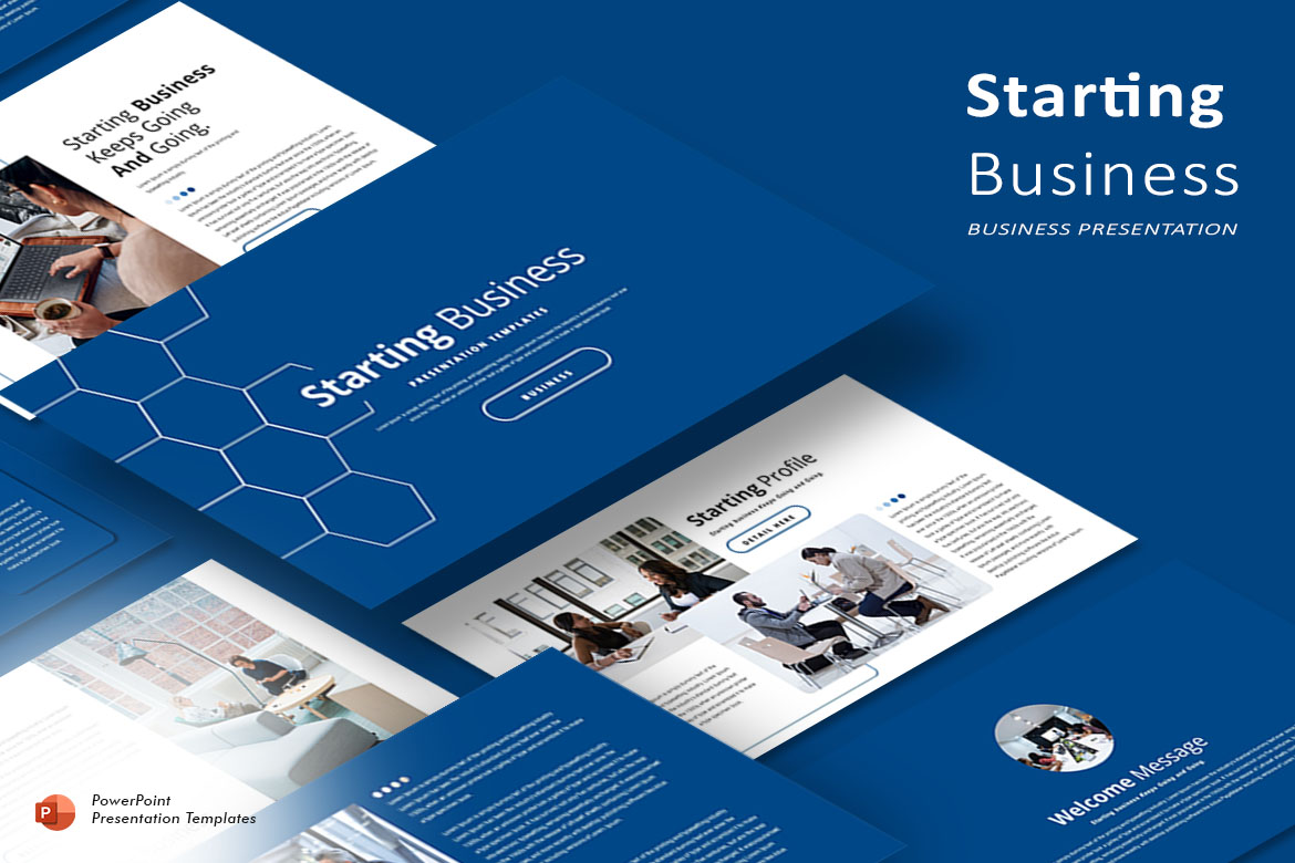 Starting Business - PowerPoint Template