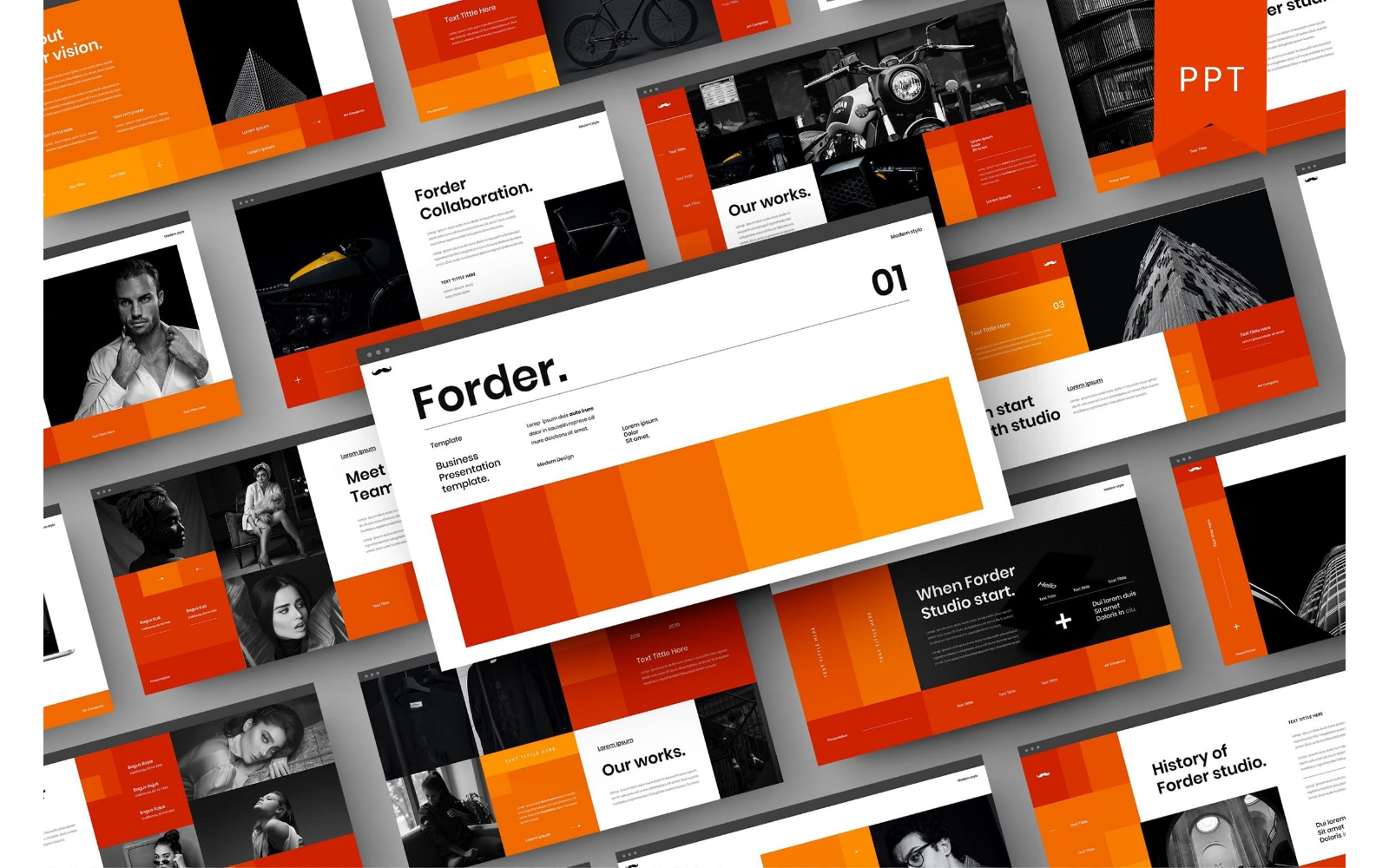 Forder – Business PowerPoint Template