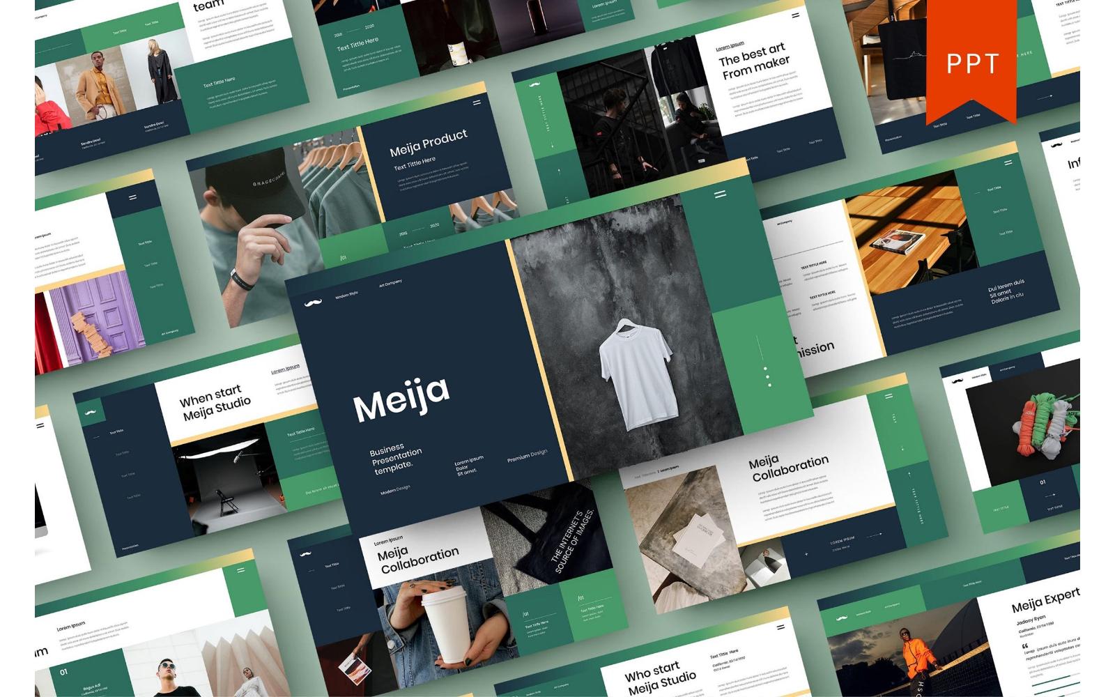 Meija – Business PowerPoint Template