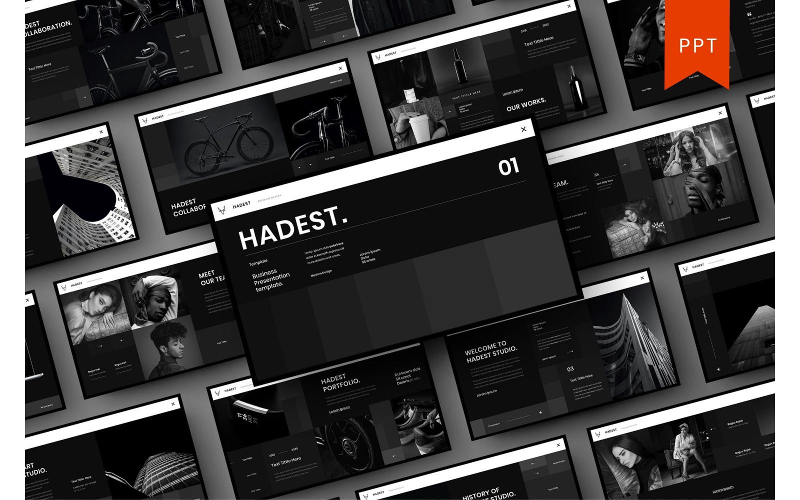 Hadest – Business PowerPoint Template
