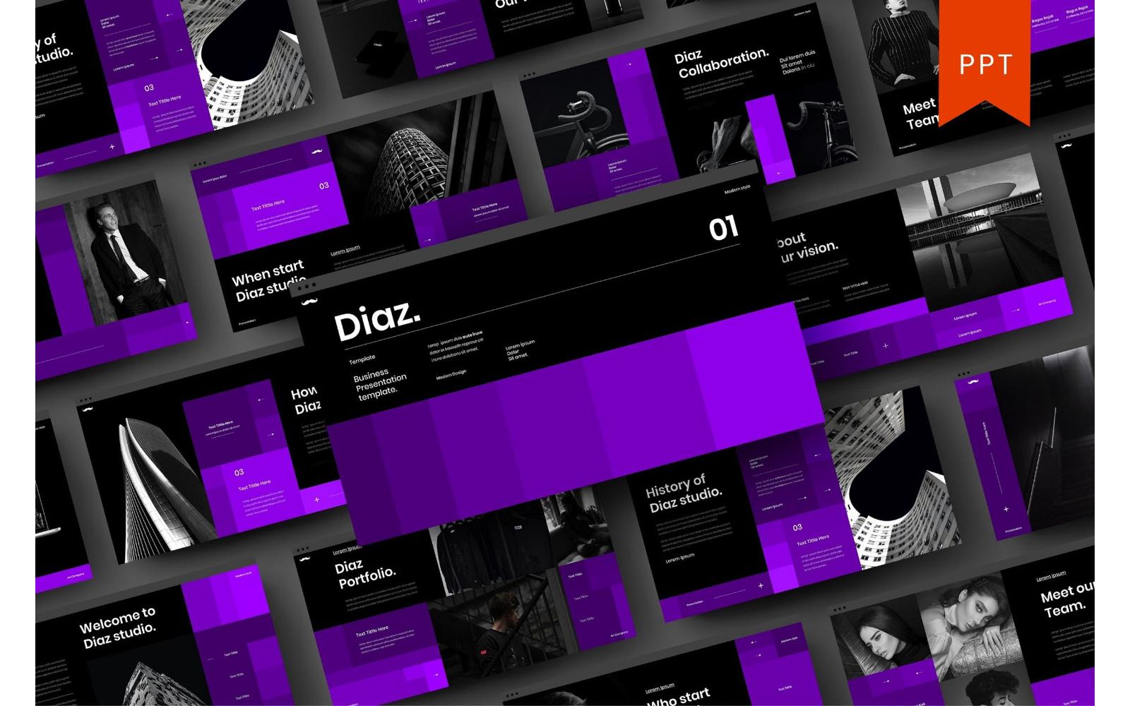 Diaz – Business PowerPoint Template