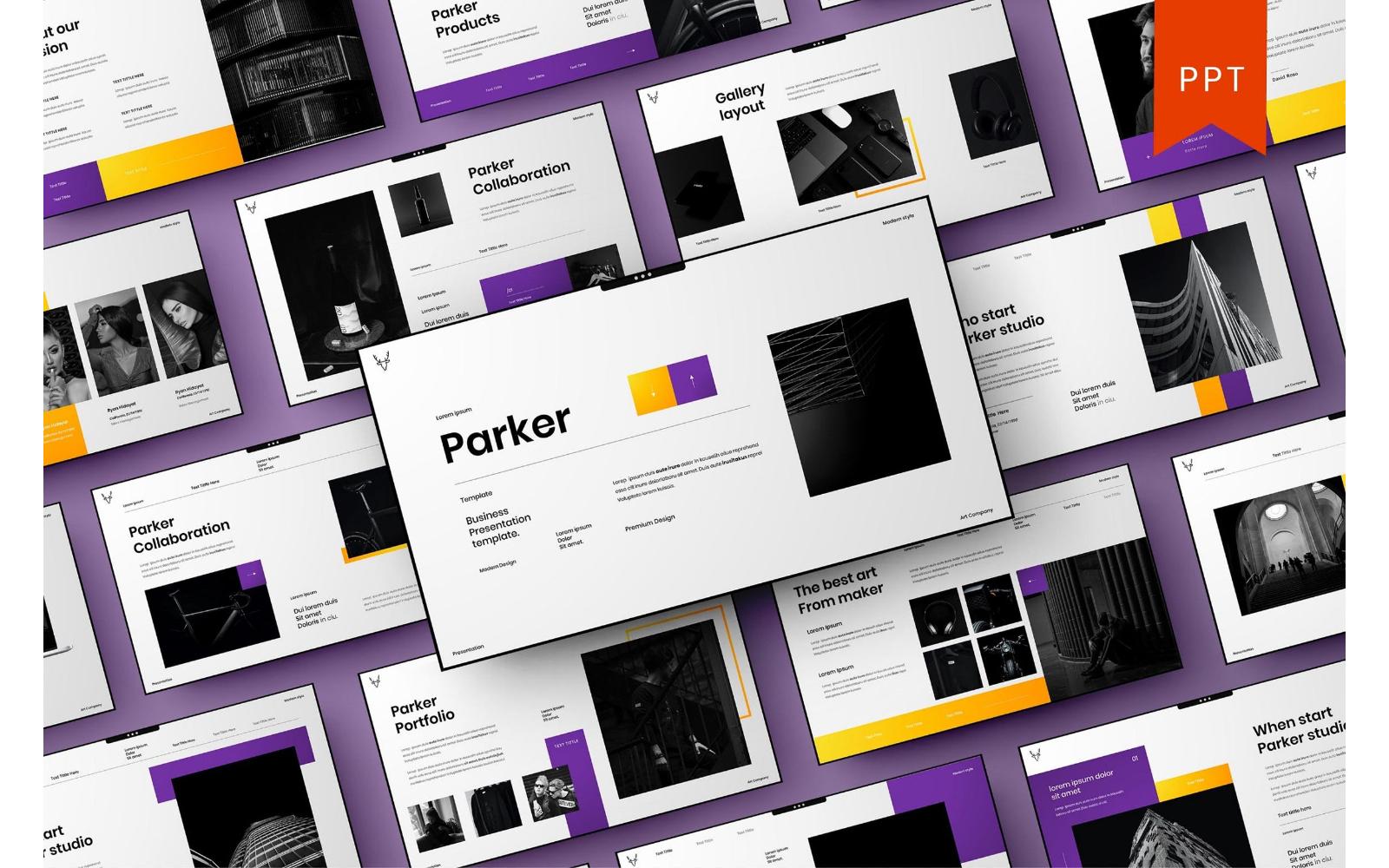Parker – Business PowerPoint Template