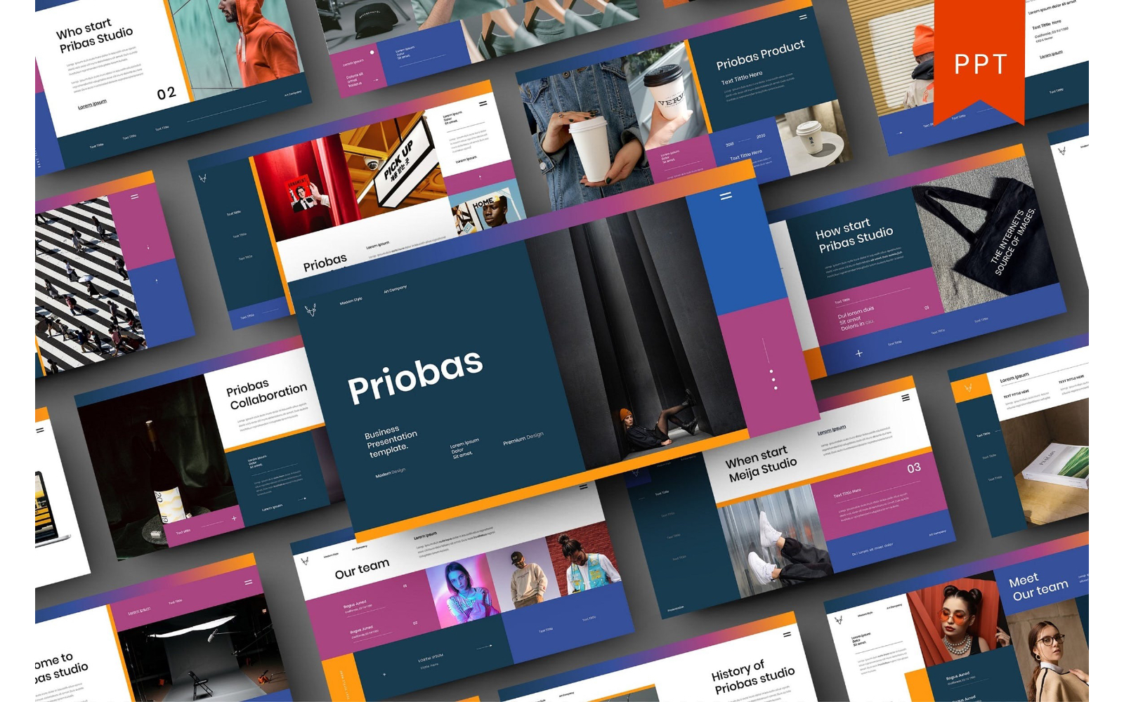 Priobas – Business PowerPoint Template