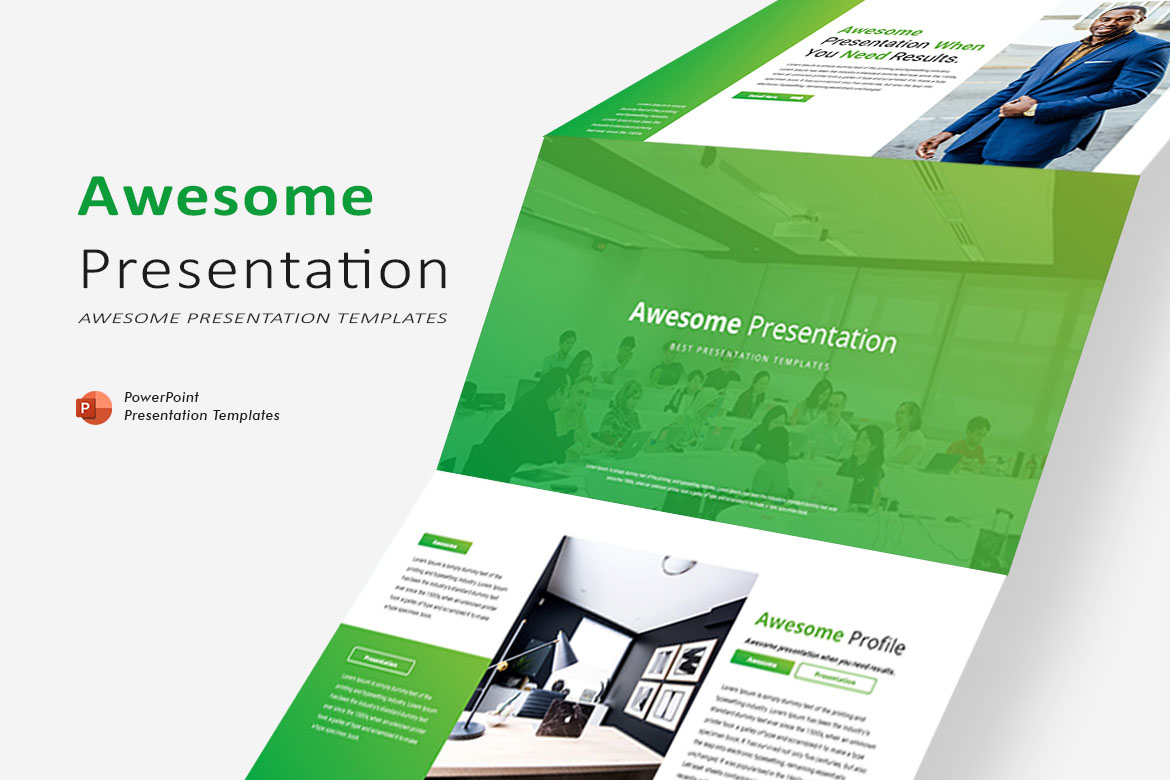 Awesome Presentation - PowerPoint Template