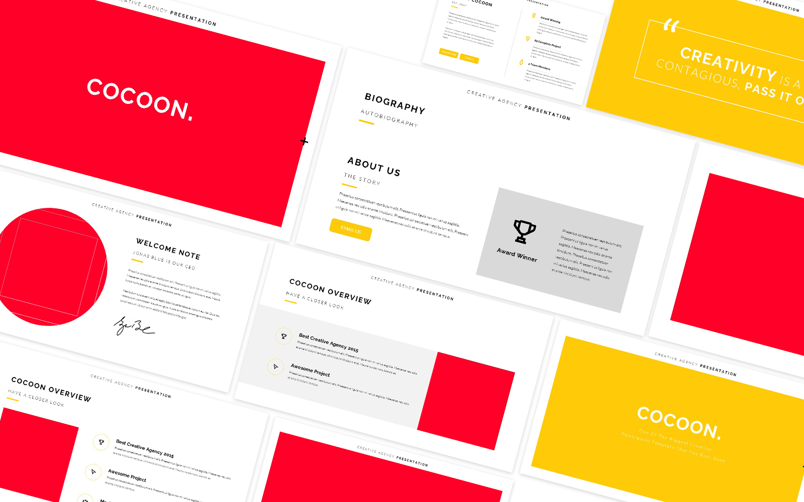 Cocoon Creative Powerpoint Template