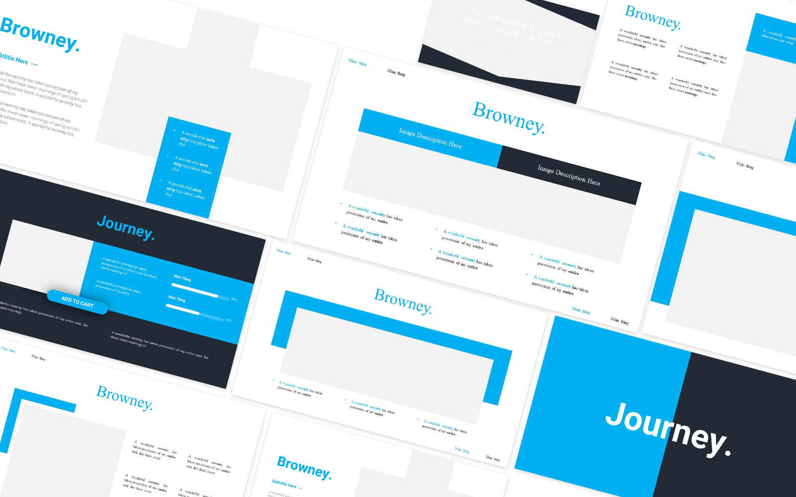 Journey Powerpoint Template