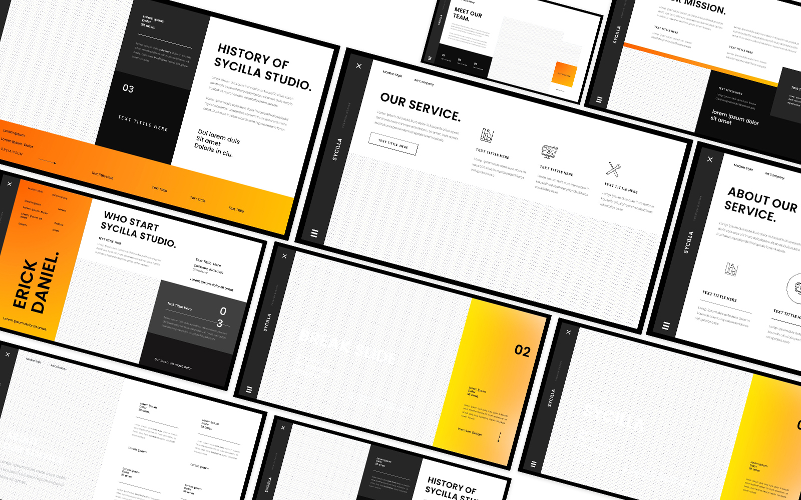 Sycilla Business Powerpoint Template